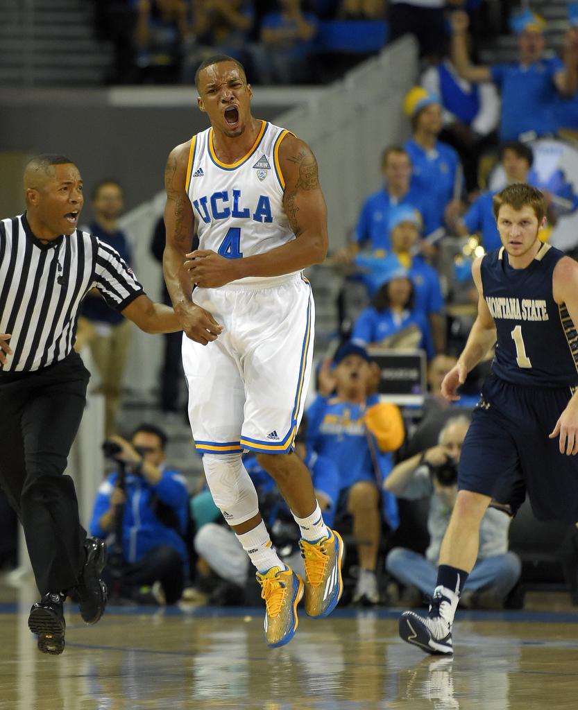 Montana State UCLA Basketball