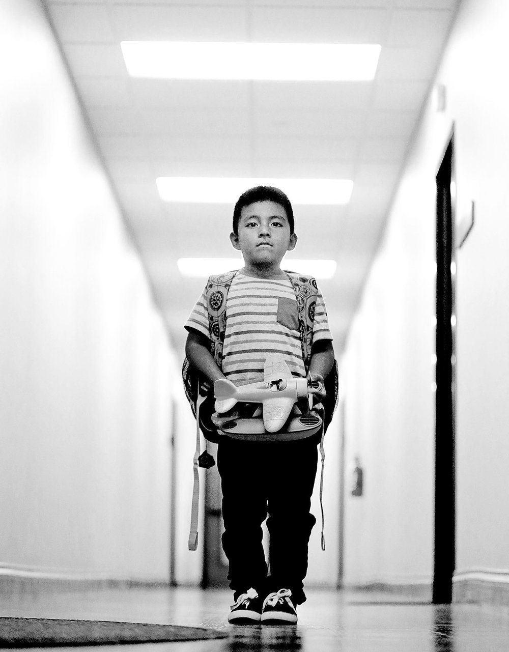 Nicolas Eduardo Nicolas Pedro, 6, from Guatemala and now of Riverside is an unaccompanied minor getting a green card to stay in the USA with the help of Immigration Law Offices of Hadley Bajramovic Thursday in Riverside, CA. August 17, 2017.