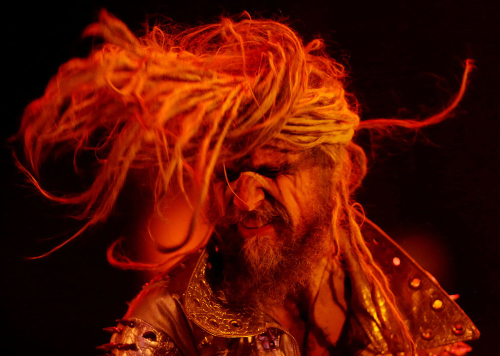 Rob Zombie performs during day two of Ozzfest Meets Knotfest at Glen Helen Amphitheater Sunday in Devore, CA. November 5, 2017.