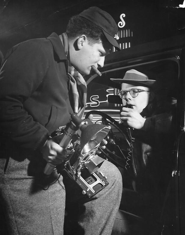 Bill Knight (right) LA Mirror 1952