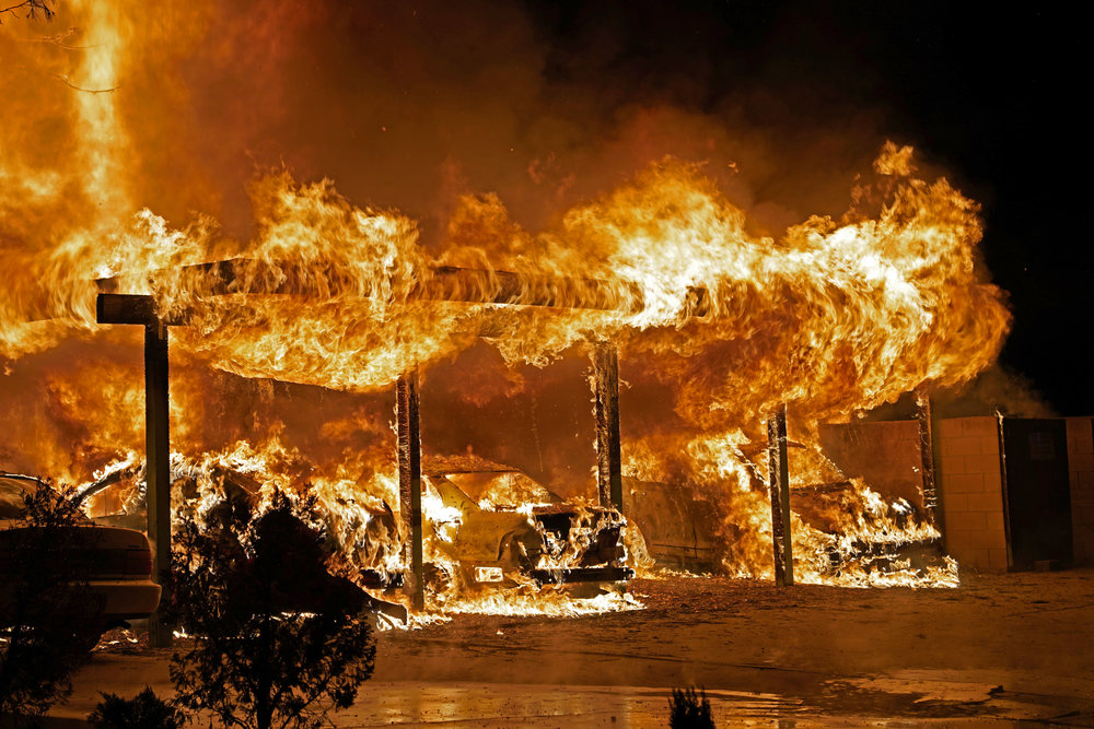 Murrieta Carport Fire