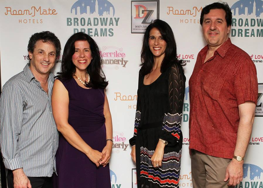 Merrilee Mannerly authors Jeff Lodin, Cynthia Whipple, Mary Cashman and Bill Squier Recognized by the Broadway Dreams Foundation