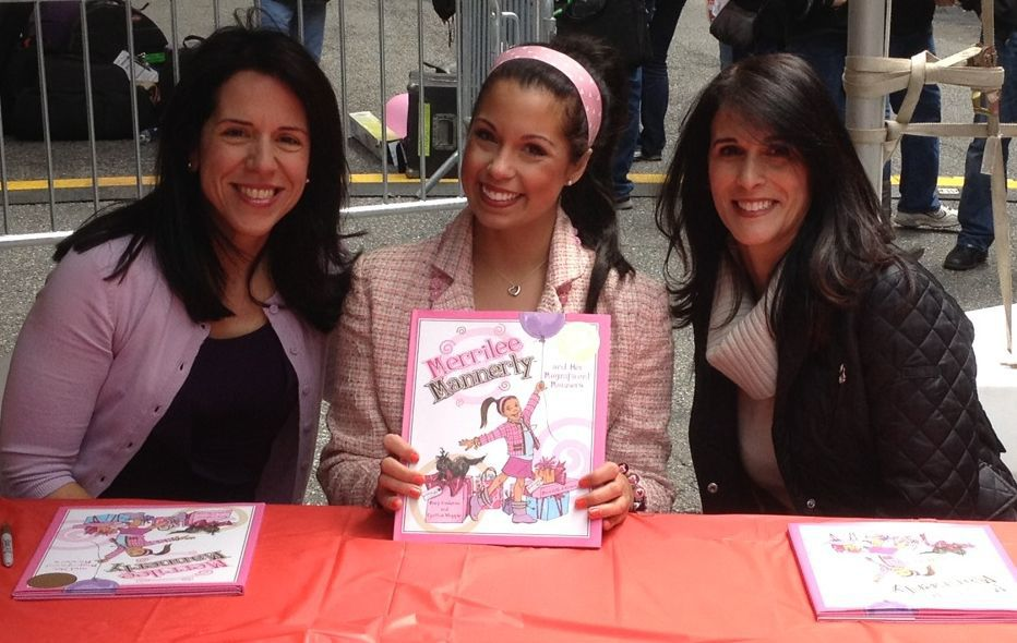Merrilee, along with authors Cynthia Whipple and Mary Cashman, at a Book Signing in NYC