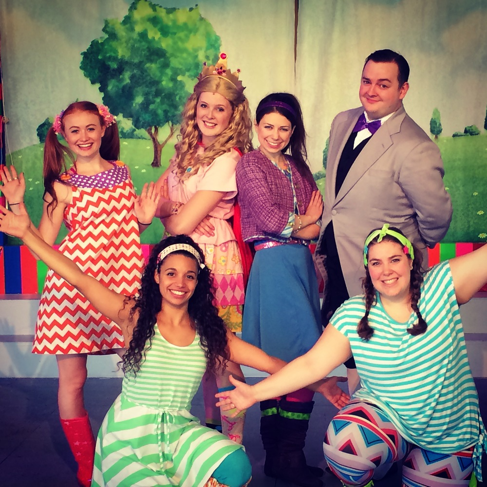 The cast of Merrilee Mannerly at Summer Theater of New Canaan