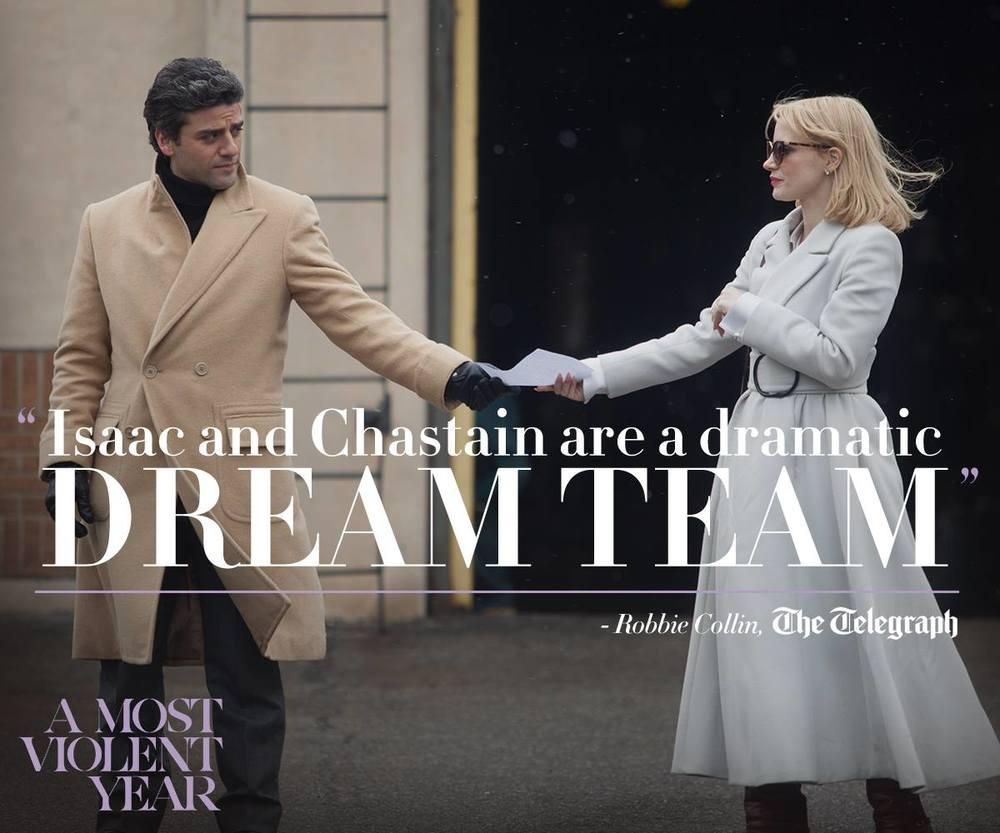 Oscar Isaac & Jessica Chastain