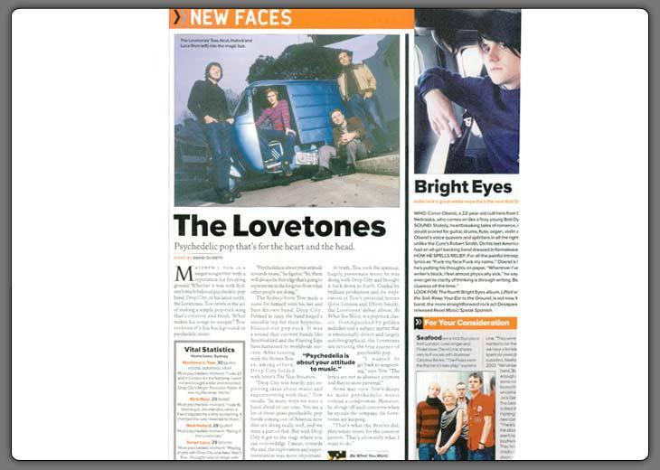 Rolling Stones Magazine Nov '02