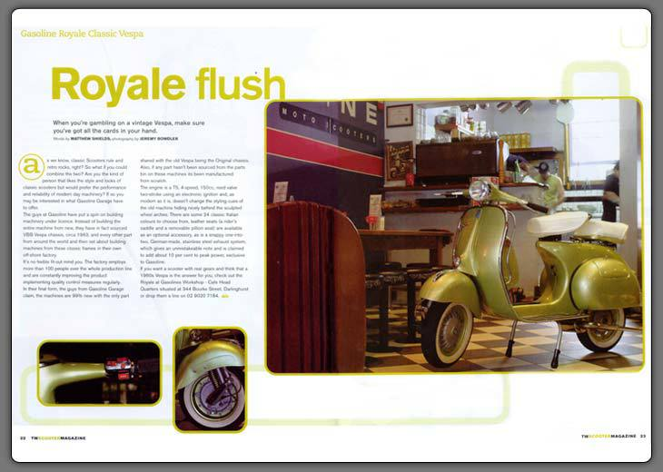 Two Wheels Scooter Magazine Feb '04