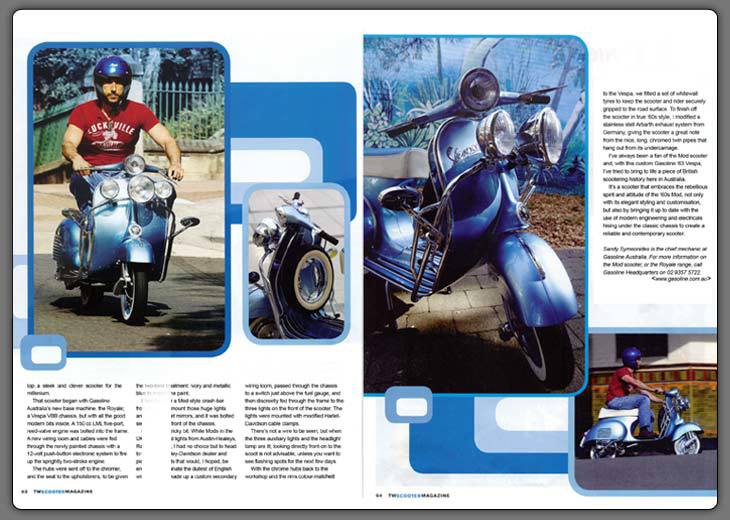 Two Wheels Scooter Magazine Jan '06