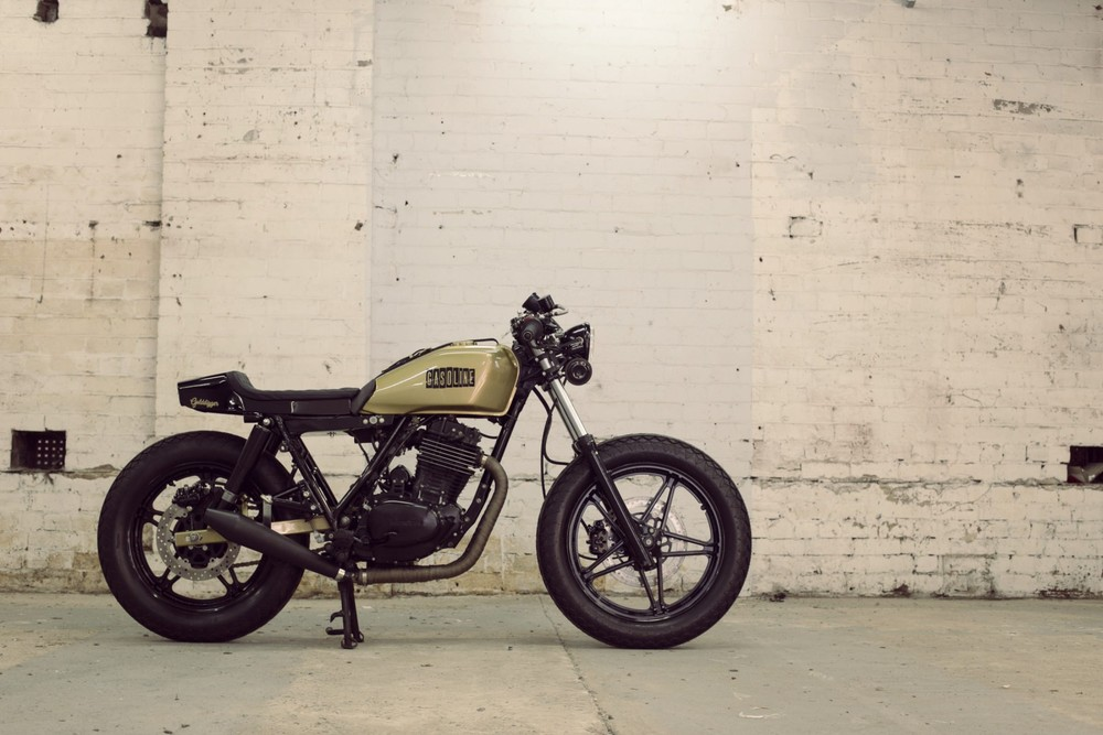 Honda Ft500 By Gasoline Motor Co Featured On Silodrome