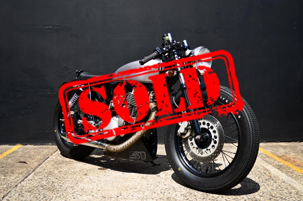 Custom Yamaha SR400 - $12,490