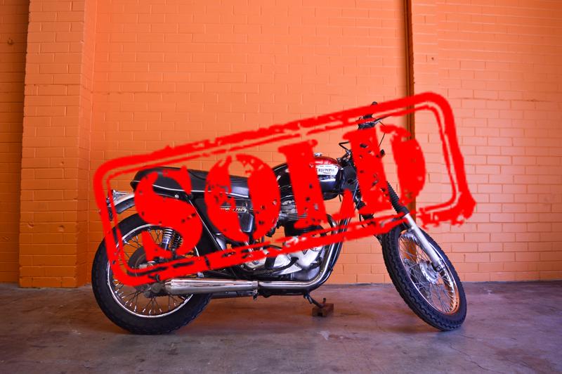 1973Triumph Bonneville 750cc - $8,490