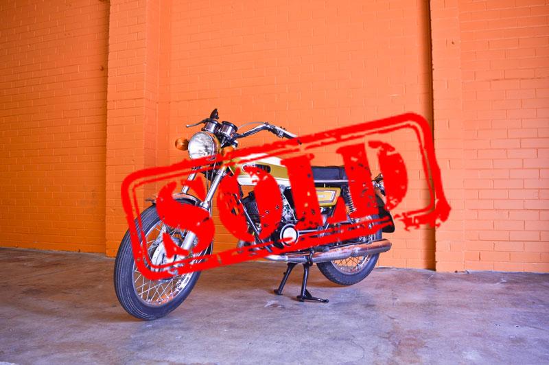 1977 Yamaha RD250 - $4,900