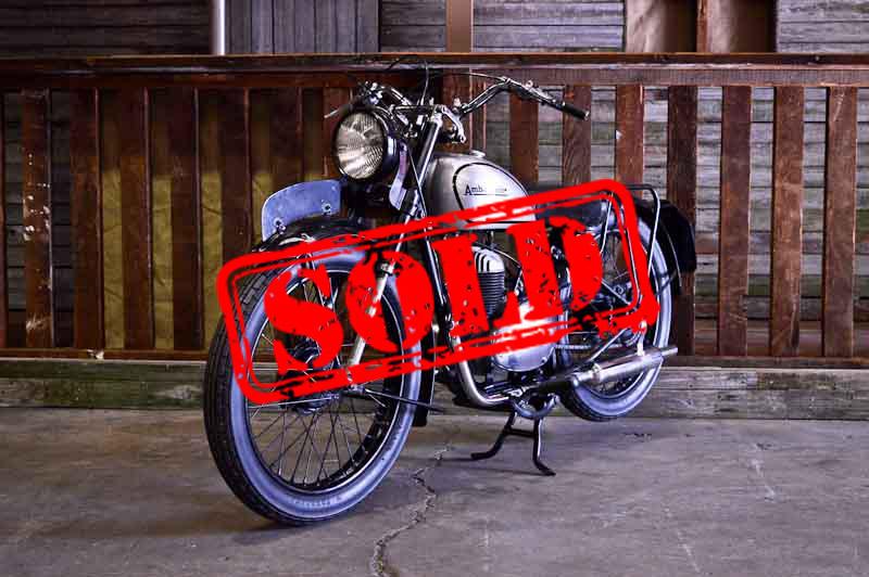 1950 Ambasaador Series 5 200cc - $5,900
