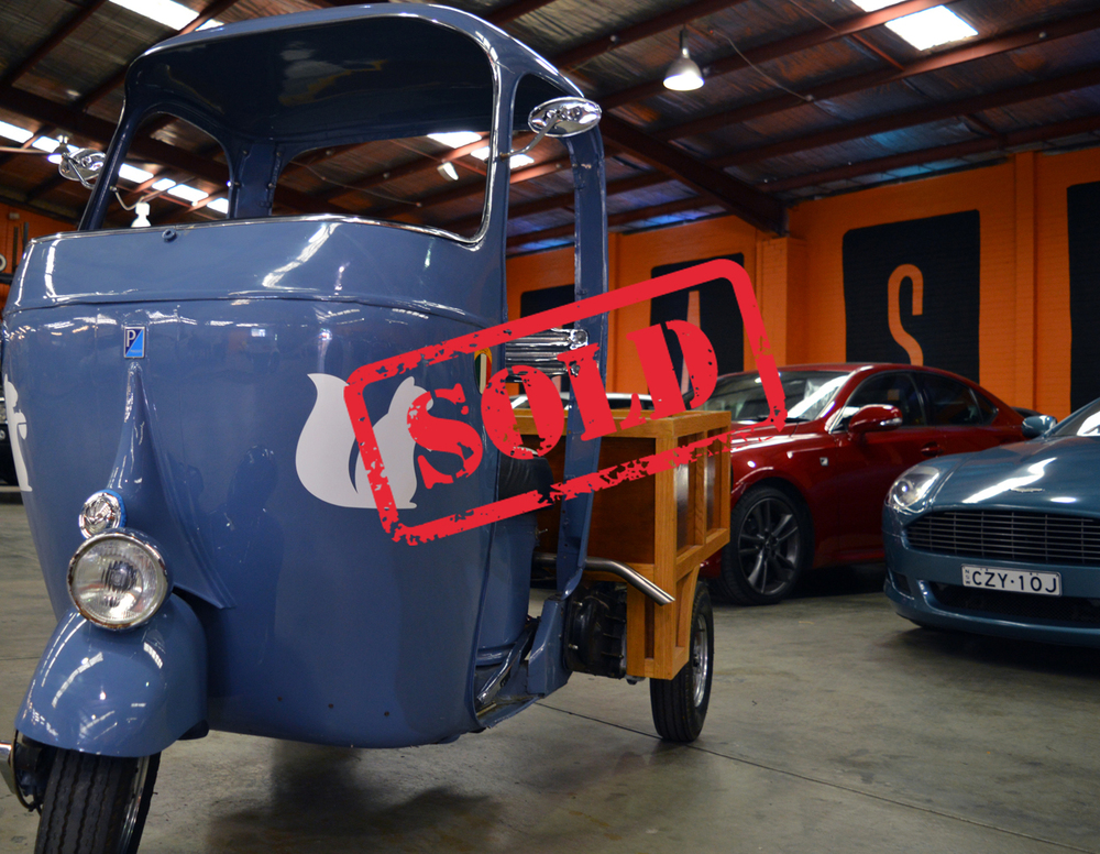1963 Piaggio Ape - $18,500 - SOLD