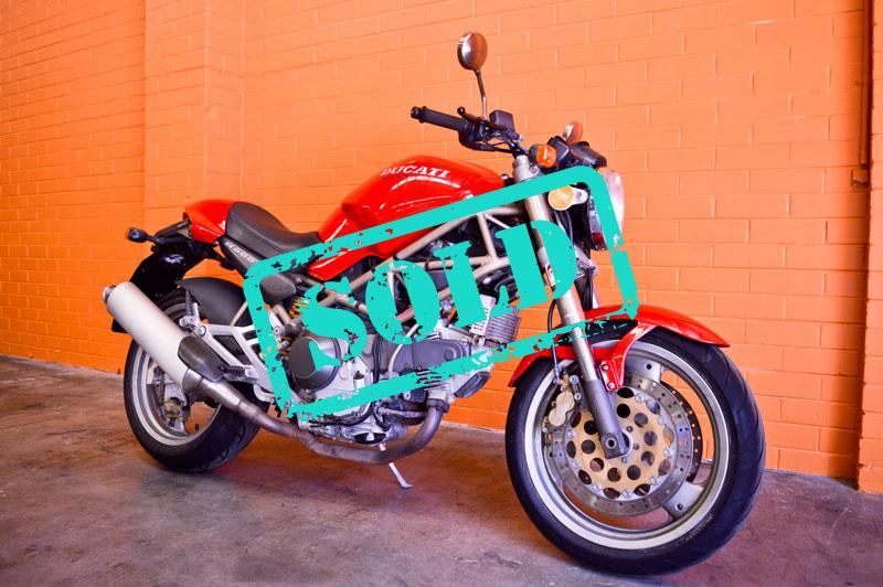 1998 Ducati Monster 900 - Sold