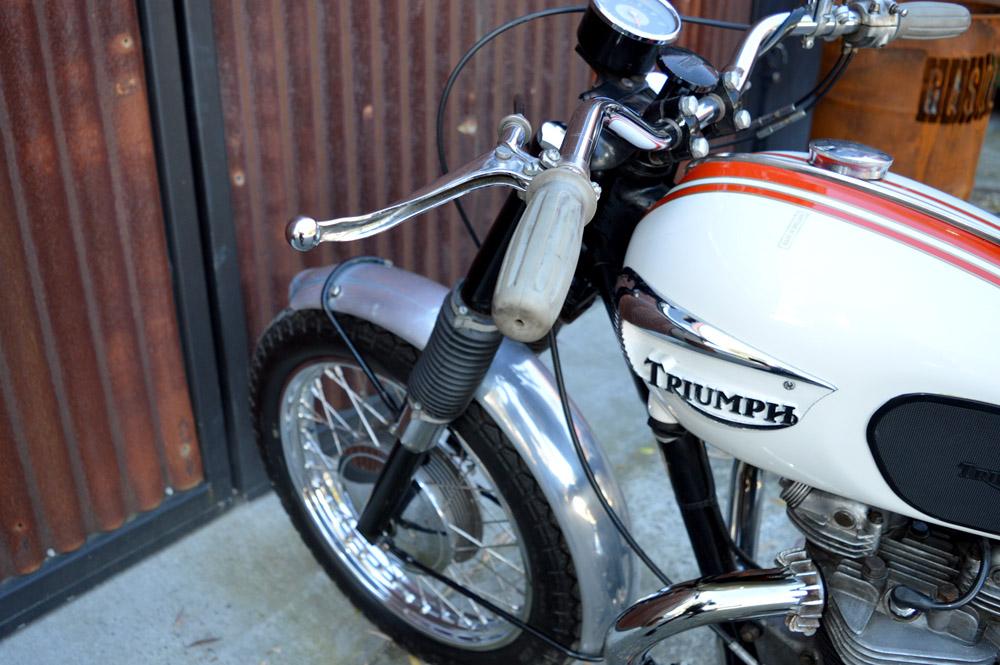 1966 Triumph Trophy 650 Tr6sc Gasoline