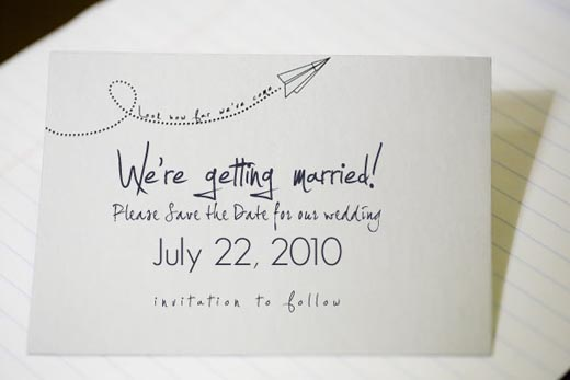 a   FREE   printable Save-The-Date set found   here