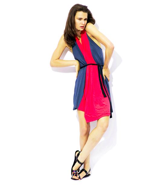 $98Fin Wrap Dress