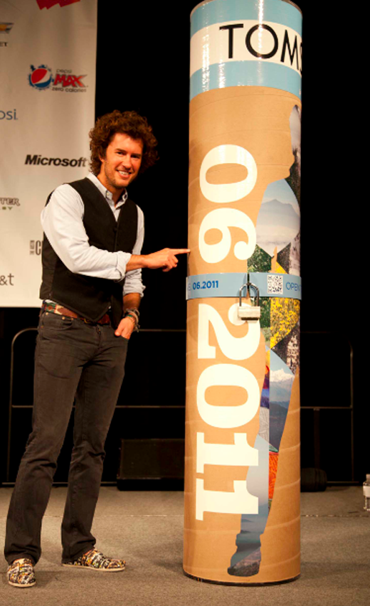 The keynote speaker on the last day of the conference, Blake Mycoskie of TOMS Shoes was an amazing way to end the trip. The way he has grown his business so organically is really encouraging. Blake told us that there will soon be the launching of a new one-for-one product, so get ready for it. From this day forward, TOMS is no longer a shoe company…. it's a One for One company.