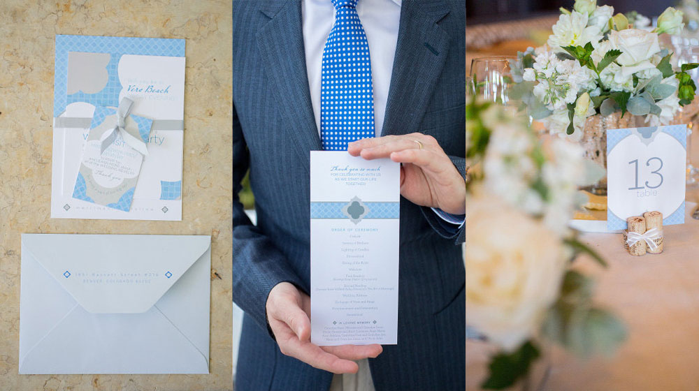 wedding suite + program