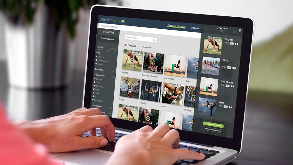 Healthclub TV  | Online Fitness Platform