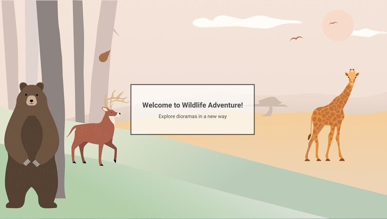 Wildlife Adventure   AR-powered Museum Experience for Kids & Families