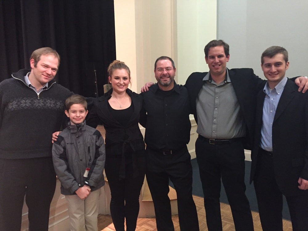 2016 Studio Recital, Williams Hall, New England Conservatory