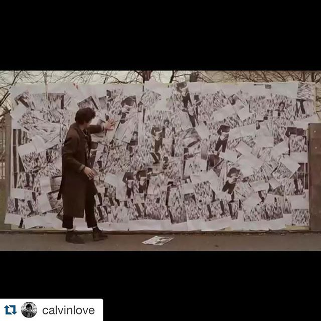"#Repost @calvinlove with @repostapp. ・・・ 3200 sheets and 1800 stills and about a couple hundred staples in my hands the video for ""Creepin"" is out for you to see! Thank you to Director @tishamyles @midnight_print @muchfact and @booooooom for the premiere #allpaper #was #recycled #calvinlove #superfuture link in Bio"