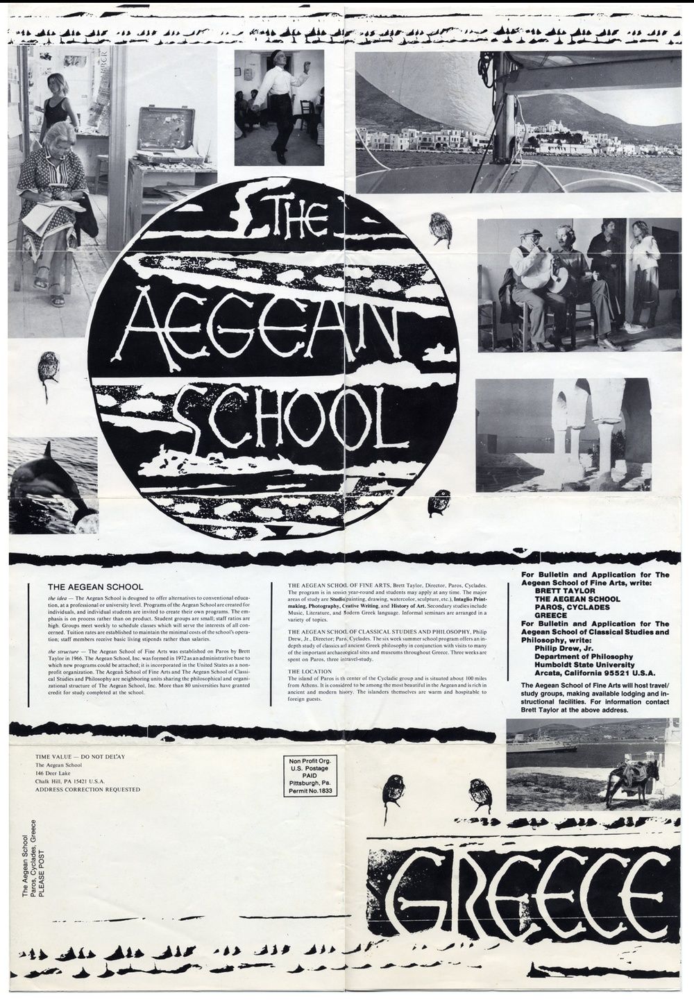The 1980 poster and brochure