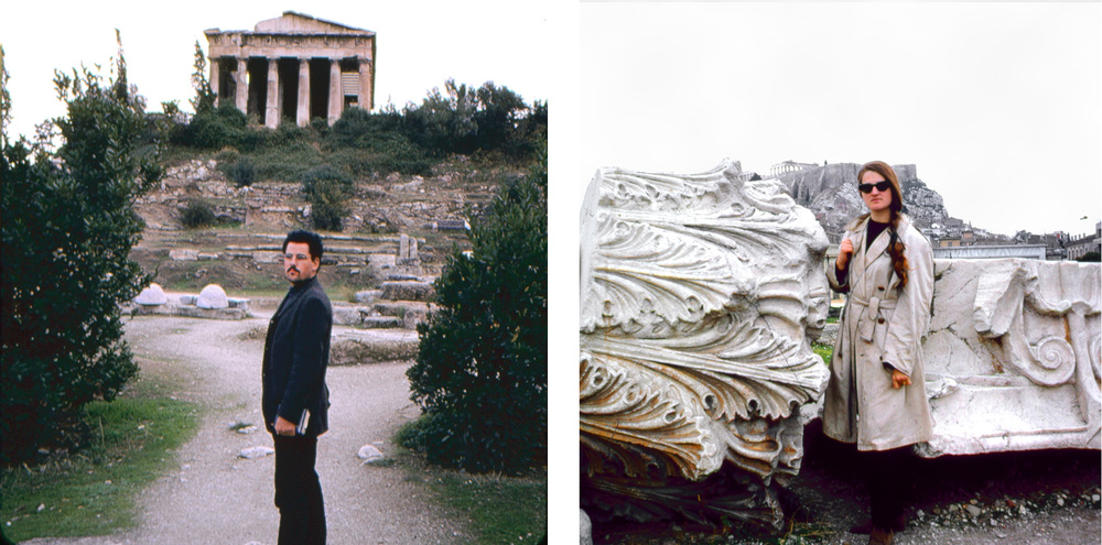 Elizabeth and Jeffrey Carson first travel to Athens in 1965-66.  The two settled in Paros permanently in 1974 and would go on to become integral faculty members of the Aegean Center as teachers of photography, creative writing, literature and art history.