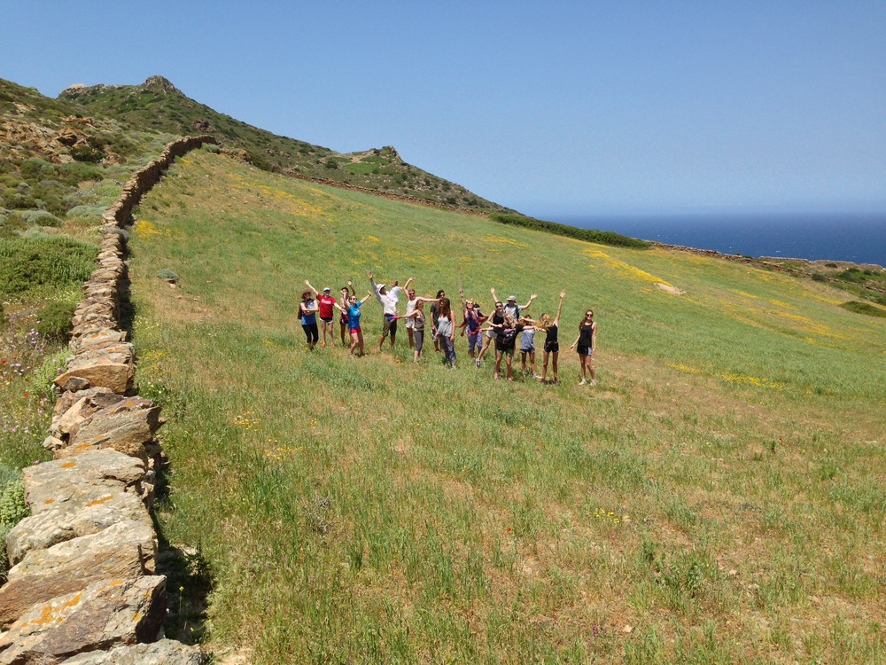 Antiparos Trek...Going to Climb the Hogback