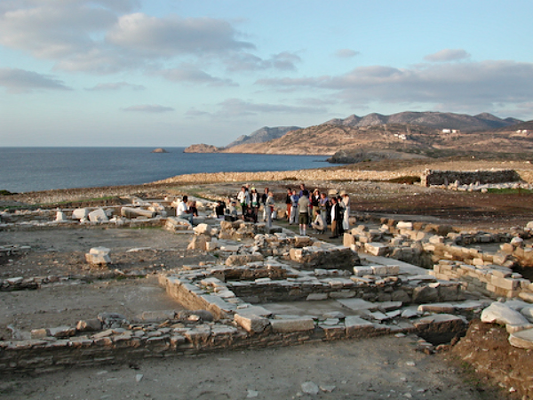 Exploring Ancient Ruins on Island of Despotiko off Antiparos