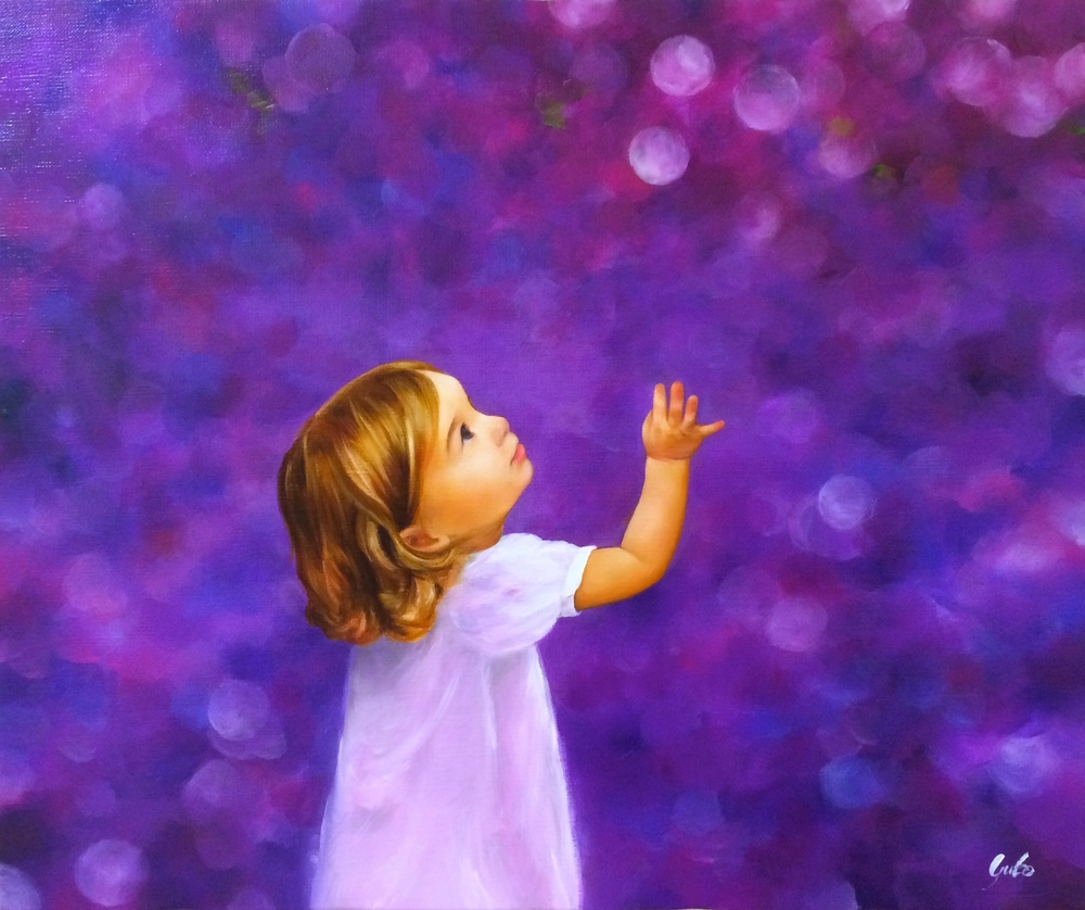 リラ色の少女  A Girl in Lilac     ©StudioYUKO