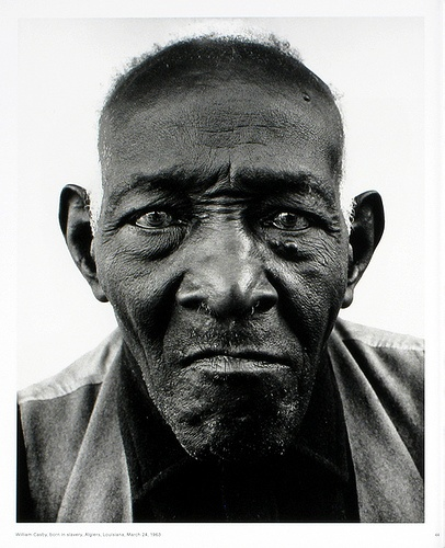 Richard Avedon William Casby, als Skalve geboren, Algiers, Louisiana, 24. März 1963 Quelle:  http://www.pinterest.com/pin/471048442248312822/