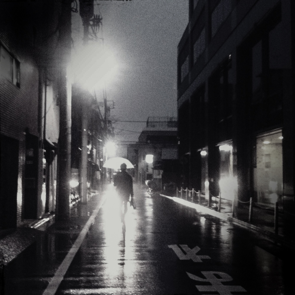 Rainy night in Tokyo. Tokyo 2012 ©Miri Berlin Photography