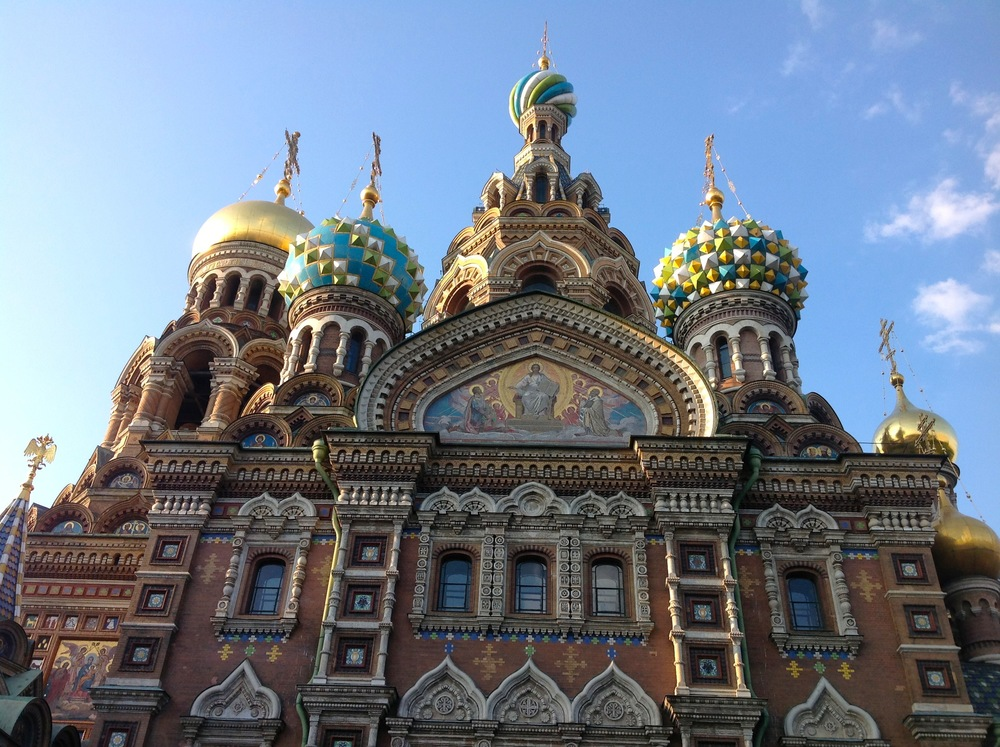 The Church of the Savior on Spilled Blood, St. Petersburg