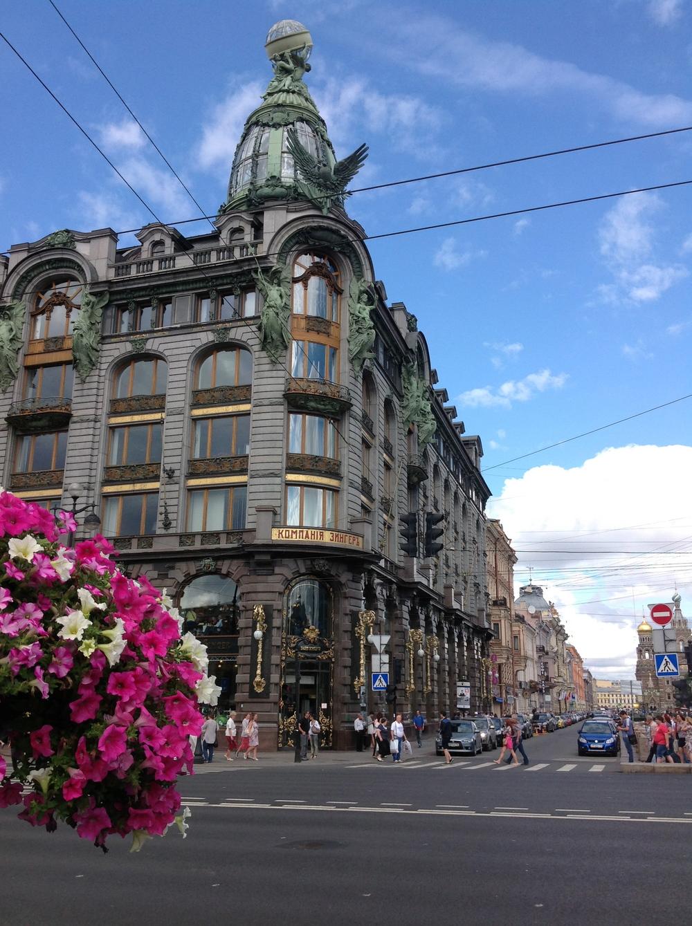Singer House, St. Petersburg