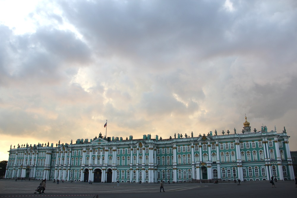 Th Winter Palace, St. Petersburg, Russia