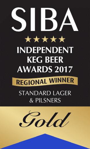 SIBA Regional 2017 Keg Standard Lager GOLD.png