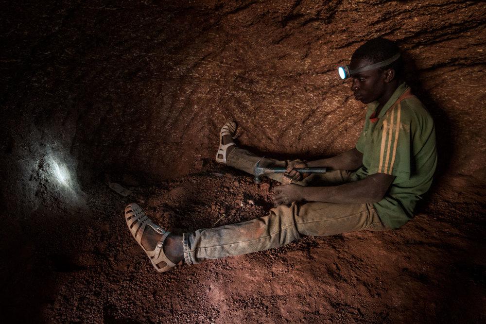Digging for Gold, Burkina Faso - 2015