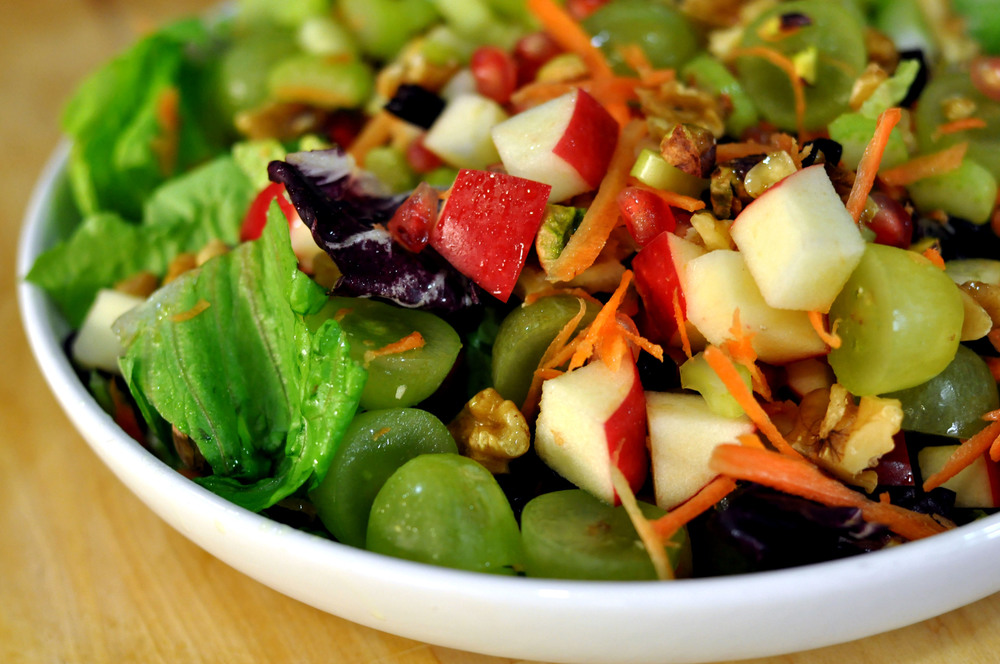 Detox Crunch Salad | Shiny Happy Bright