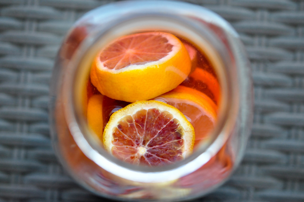 Citrus Vodka Spritzer   Shiny Happy Bright