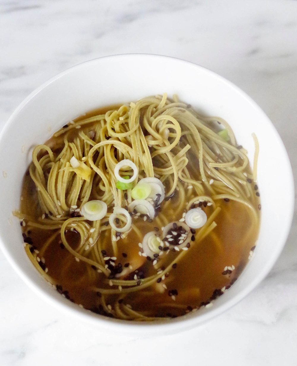 Homemade Ramen from Beautiful Ingredient - easy, vegetarian recipes in under 30 minutes.