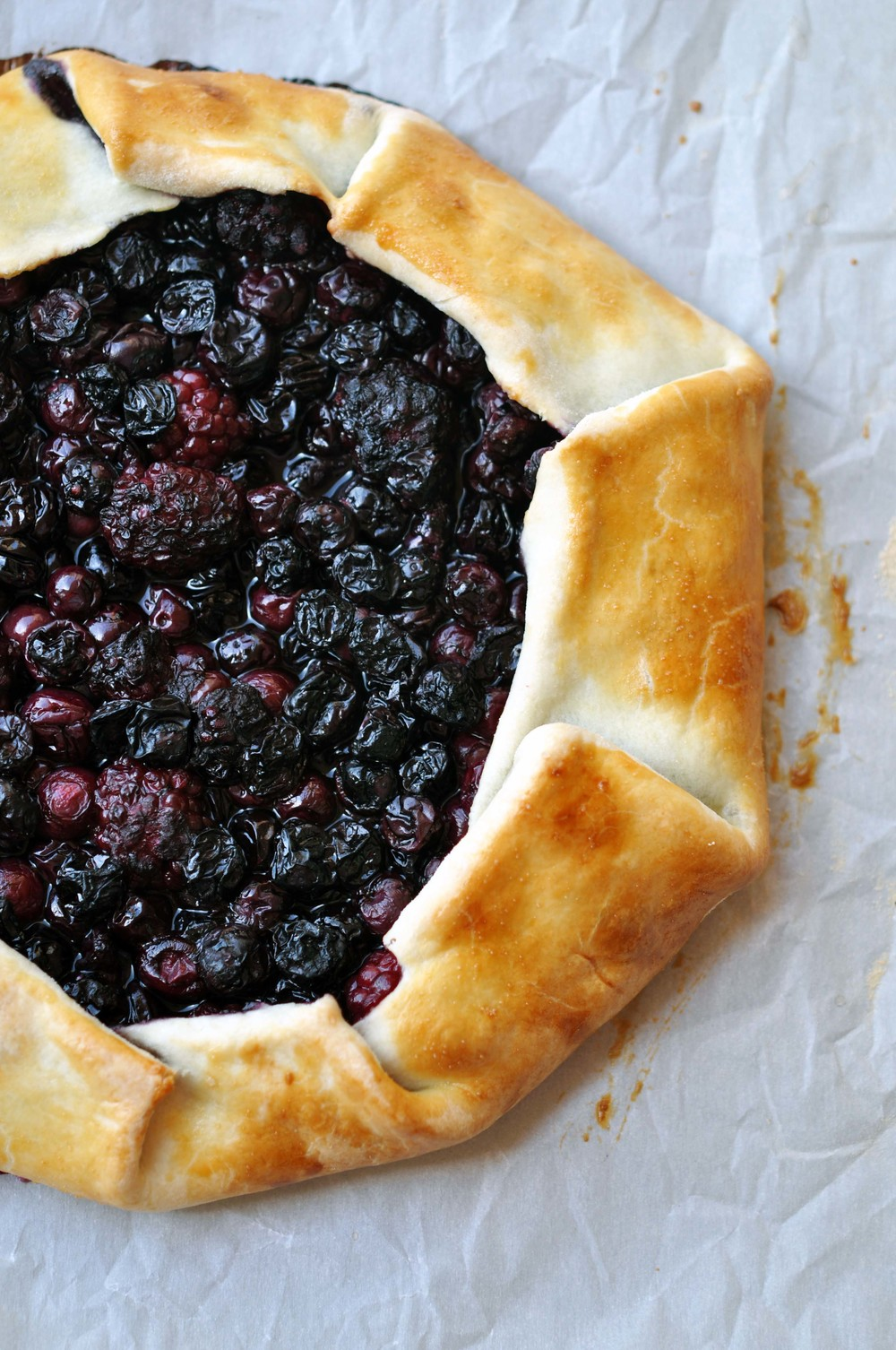 Blueberry & Blackberry Galette