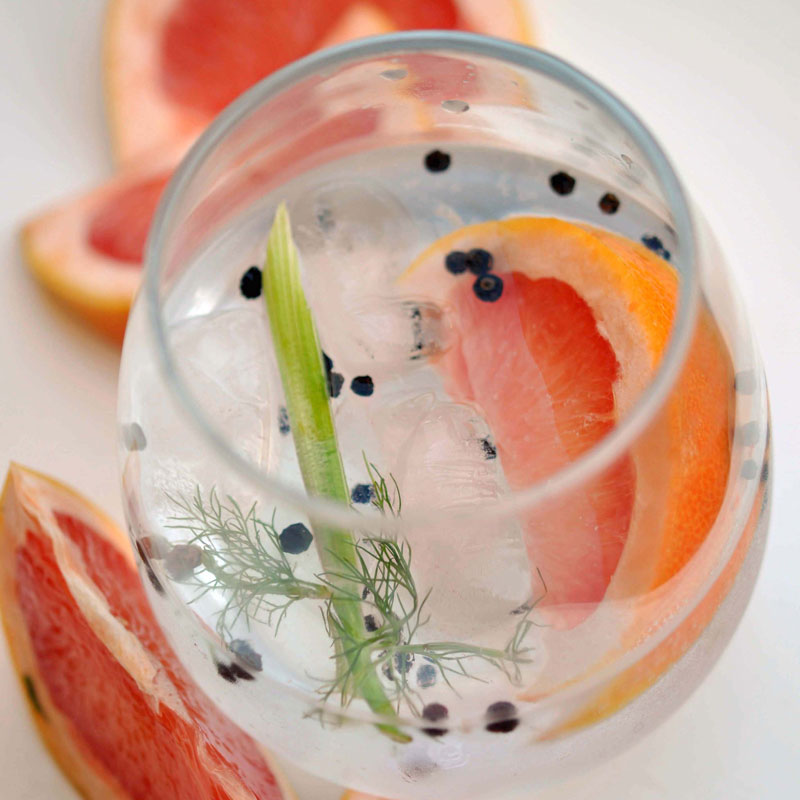 Fennel, Black Pepper, & Grapefruit G&T