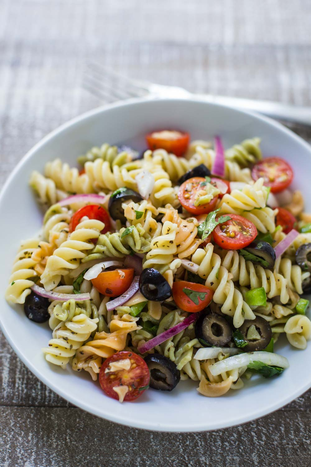 Quick & Easy Pasta Salad from B. Britnell