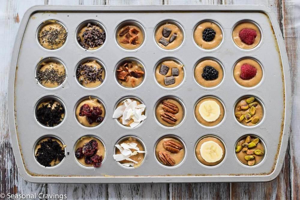 Five Ingredient Blender Muffins from Seasonal Cravings