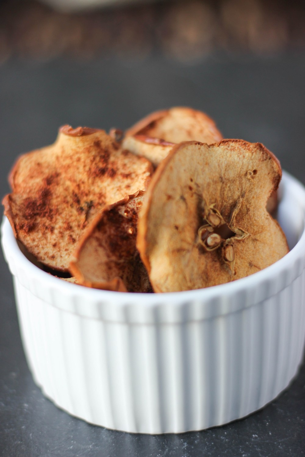 Super Easy Apple Chips from Baked Simple.