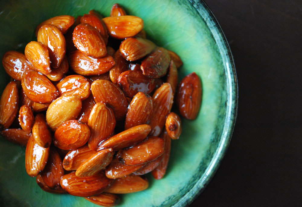 Persian Style Candied Almonds with Lime from Ahu Eats