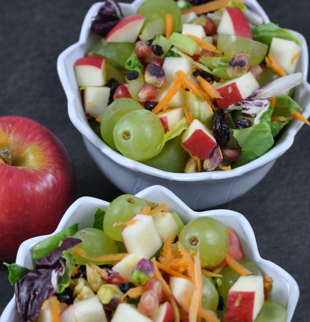 The Detox Crunch Salad | Shiny Happy Bright